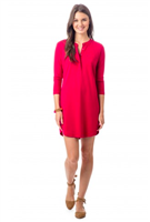 Cranberry Around Town Dress from Southern Tide