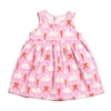 Oslo Baby Dress-Bunnies & Carrots