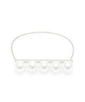 Pearl Bar Collar Necklace from Zenzii
