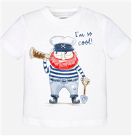 """I'm So Cool"" tee from mayoral"