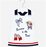 """Summer is the Best"" Dress from Mayoral"