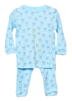 Blue Bunnies 2 Piece Pajamas from noomie