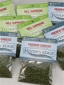 Combo pack: Dill and French cheese - 8 pack