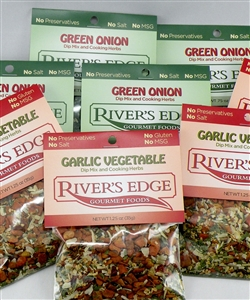Combo pack: Garlic vegetable and green onion - 8 pack