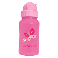 Green Sprouts Aqua Bottle - Pink