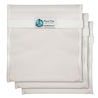 Planet Wise Quart Sandwich Bag Set - Clear