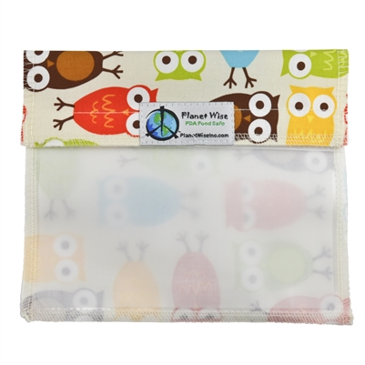 Planet Wise Window Sandwich Bag