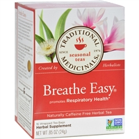 Traditional Medicinals Breathe Easy Herbal Tea