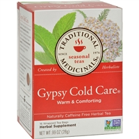 Traditional Medicinals Gypsy Cold Care Herbal Tea