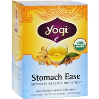 Yogi Organic Stomach Ease Herbal Tea case