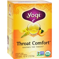 Yogi Tea Organic - Throat Comfort