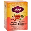 Yogi Perfect Energy Herbal Tea Raspberry Passion case