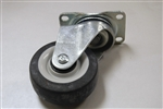 3.50 X 1.25 SWIVEL CASTER THERMOPLASTIC - PAIR