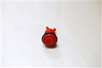 HORIZ. PUSH BUTTON -RED
