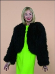 Marabou Jacket with Long Sleeves