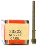 Genuine Briggs & Stratton 23222 Carburetor Nozzle Before Code Date 85120600