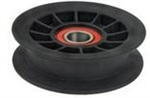 R12299 Flat Idler Pulley Replaces Hustler 794404