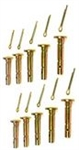 R5549 Set of 10 Shear Pins & Cotter Pins Replaces MTD 738-04124A