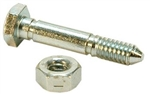 R918 - Shear Pin & Lock Nut replaces Ariens 532005