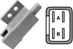 R9659 Plunger Interlock Switch for Ariens, AYP, Dixon, Exmark, John Deere, MTD & Snapper