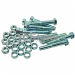 780-230 Pack of 10 Shear Pins with Spacers & Nuts For MTD, Noma & Canadiana Snowblowers