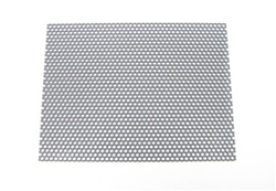 SAMPLE Custom Metal Speaker Grill Steel Primer Gray