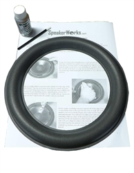 "10"" JL 10W6V2 Speaker Repair Kit Flat"