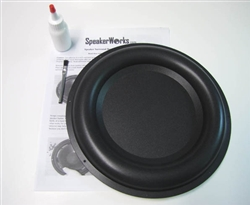 "10"" Passive Radiator Speaker Repair Kit"