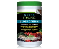 Super Greens Chocolate - ORAC levels equal to 20+ servings of fruits and vegetables! / Retail $49.90