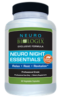 Neuro Night Essentials 60C (Retail $41.50)