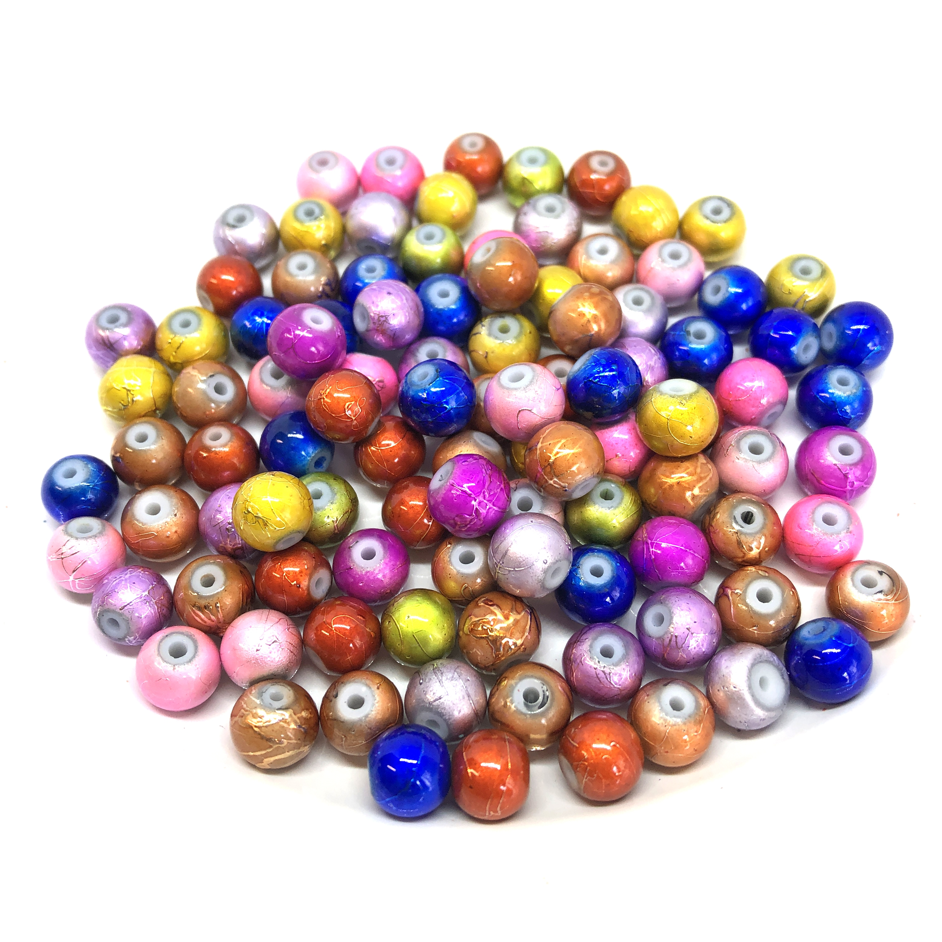 spectra beads, glass beads, jewelry supplies
