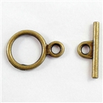 brass clasps, toggle clasp, jewelry supplies