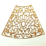 brass filigree, French filigree, jewelry supplies