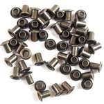 brass rivets, jewelry making, 3/32, brass ox