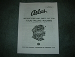 NEW ATLAS MILLING MACHINE MANUAL