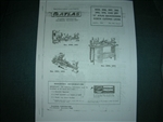 ATLAS CRAFTSMAN COMMERCIAL 12 INCH LATHE INTRUCTIONS AND PARTS MANUAL