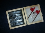 NEW 5 PIECE CARBIDE INSERT TURNING TOOL SET IN CASE+EXTRAS