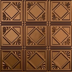 Backsplash Panel 18x24 In Oil Rubbed Bronze Trad 4 - Case of 5