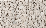Snow White Marble Chips .5 Cu Ft / Bag