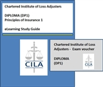 CILA eLearning Course + First Exam Entry for Principles of Insurance 1 (Diploma Level - DP1)
