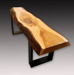 Japanese Hardwood Bench