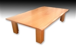 Japanese Style Beech Wood Dining Table