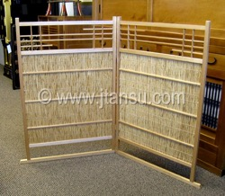 Japanese Tea Ceremony Screen