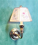 Wall Sconce whith shade 1-inch scale Clare Bell Brass