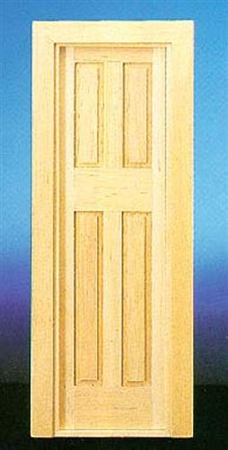 Narrow door interior exterior 1 inch scale 70133 for Narrow external door