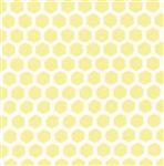 Small yellow hex pattern vinyl flooring sheets