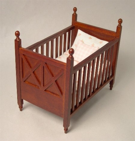 Miniature Baby Crib Bed Room Furniture Lee 39 S Line In Miniature