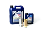 USP Liqui Moly Complete Oil Service Kit with Cool Flow Filter Housing - 1.8T and 2.0T Gen3