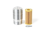 USP Cool Flow Aluminum Oil Filter Housing and Filter - 1.8T and 2.0T Gen3