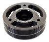 Grimmspeed Lightweight Crank Pulley Black - Subaru All EJ Engines